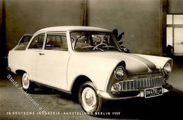 Auto Oldtimer DKW Junior 1959 Foto-Karte I-II - Ansichtskarten