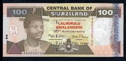 Swaziland 100 Emalangeni 2004 Pick 34 UNC - Swaziland