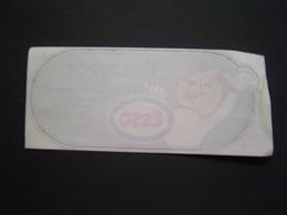 AUTOCOLLANT AUTOMOBILE Ancien : PEUGEOT FAIT CONFIANCE A ESSO - Stickers