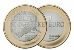 Slovenie 2019     3 Euro Regio Prekmurje - Région Prekmurje   !! UNC Uit De Rol - UNC Du Rouleaux - Slovénie