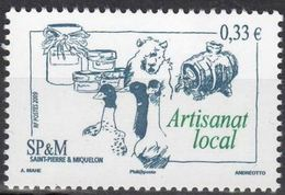 "SPM YT 947 "" Artisanat Local "" 2009 Neuf** - St.Pierre & Miquelon"