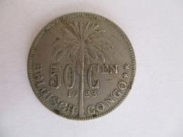 Congo Belge 50 Centimes 1923 - Congo (Belge) & Ruanda-Urundi
