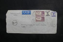 INDE - Enveloppe Du Consulat De France Pour Paris ( Ministre Des Affaires Etrangères ) En 1945 - L 40636 - 1936-47  George VI