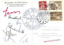 Expedition Nordpol 1. Deutsche Nordpol Expedition 1966 I-II - Ereignisse
