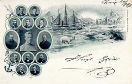 Expedition Nansen, Fridtjof Schiff Fram 1897 I-II Bateaux Bateaux - Ereignisse