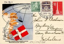 EXPEDITIONEN - DÄNISCHE NORDOST-GRÖNLAND EXPEDITION 1938/39 Mit S-o I-II - Ereignisse