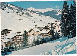 Wintersportplatz Gerlos, 1250 M, Zillertal, Tirol - Blick Auf Falschriedl Und Königsleiten - Gerlos