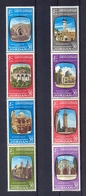 Jordan 1963 - 2 Strips Of 4 Perforated Stamps - Holy Places, Jerusalem Mosques And Churches - MNH** - Excellent Quality - Jordanië