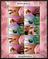 Indonesia 2001 / Gemstones MNH Gemas / Cu14412  29-23 - Minerales