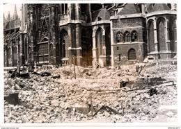 8627- 2019  PHOTOGRAPHIE ROUEN 1940  DESTRUCTION DE 1940  MAISONS ENTRE LA RUE DES BONNETIERS ET LA RUE ST DENIS - Andere