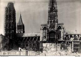 8632 - 2019  PHOTOGRAPHIE ROUEN 1940  DESTRUCTION DE 1940  VUE PRISE ENTRE LA RUE DU BAC ET LA RUE DE LA CALENDE - Andere