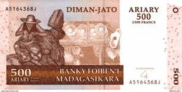 6297-2019  BILLET DE BANQUE MADAGASCAR - Madagascar