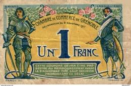 6908-2019    BILLET CHAMBRE DE COMMERCE  DE  GRENOBLE - Chambre De Commerce