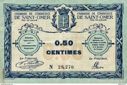 6914-2019    BILLET CHAMBRE DE COMMERCE  DE  ST OMER - Chambre De Commerce