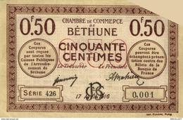 6946-2019    BILLET CHAMBRE DE COMMERCE  DE BETHUNE - Camera Di Commercio