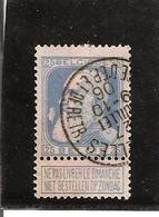 Belgique N°76 BRUXELLES/CAISSE D' EP. ET DE RETR - 1905 Grosse Barbe