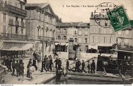 4229-2019    LA SEYNE   LE QUAI ET L HOTEL DE VILLE - La Seyne-sur-Mer