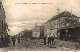 4454-2019    ST OUEN LES PAREY  PLACE DE LA MAIRIE - Francia