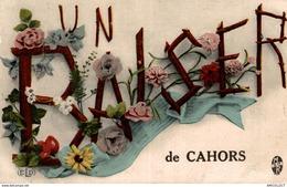 4467-2019    CAHORS  UN BAISER DE CAHORS - Cahors
