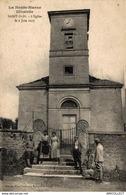4487-2019   ST BLIN   L EGLISE LE 2 JUIN 1917 - Autres Communes