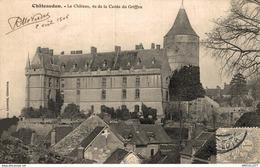 4556-2019   CHATEAUDUN   LE  CHATEAU VU DE LA CAVEE DU GRIFFON - Chateaudun