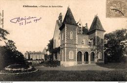 4557-2019   CHATEAUDUN   LE  CHATEAU VU DE  ST GILLES - Chateaudun