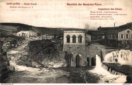 4622-2019    ST JUERY  CHUTE D AVAL   STATION ELECTRIQUE N°2   SOCIETE DU SAUT DU TARN - Francia