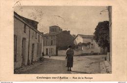 4744  -2019    COULONGES SUR L AUTIZE   RUE DE LA RAMPE - Coulonges-sur-l'Autize