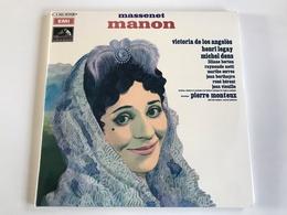 MASSENET MANON - 3 LP - Oper & Operette