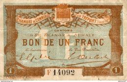 7045-2019    BILLET CHAMBRE DE COMMERCE DU TREPORT - Chambre De Commerce