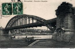 7947-2019    PARIS   METROPOLITAIN   PASSERELLE D AUSTERLITZ - Métro Parisien, Gares