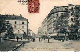 7964-2019    PARIS     RUE DE REUILLY  PRISE DU BOULEVARD DIDEROT - Francia