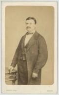 CDV 1870-80 Charles Mevius à Rennes . Antoine Tual , Notaire à Josselin , Décédé En 1907 . Bretagne . - Photographs