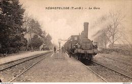 3421-2019   NEGREPELISSE   LA GARE - Negrepelisse