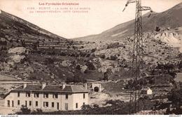 3523-2019    PORTE   LA GARE ET LA SORTIE DU TRANSPYRENEEN COTE CERDAGNE - Francia