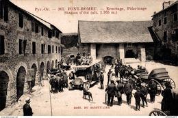 3528-2019    FONTROMEU   ERMITAGE  PELERINAGE STATION D ETE - Francia
