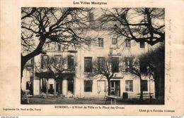 3764-2019   L HOTEL DE VILLE ET LA PLACE DES ORMES - Nomeny