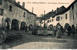3928-2019     ALBY SUR CHERAN   LES PORTIQUES  TROPHEE DE 1914 - Alby-sur-Cheran