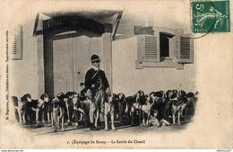 4081-2019       EQUIPAGE DU SOUZY  LA SORTIE DU CHENIL - Chatillon Sur Seine