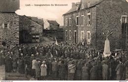 4109-2019     LAX   INAUGURATION DU MONUMENT - Autres Communes