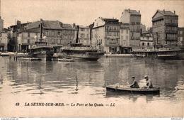 4196-2019    LA SEYNE SUR MER   LE PORT ET LES QUAIS - La Seyne-sur-Mer