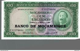 7173-2019    BILLET ETRANGER MOZAMBIQUE - Mozambique