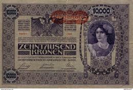 7605-2019    BILLET  DE BANQUE  REPUBLIQUE D AUTRICHE ALLEMANDE - Austria
