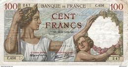 7633-2019    BILLET  DE BANQUE  24-8-1940 - 1871-1952 Antichi Franchi Circolanti Nel XX Secolo