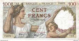7634-2019    BILLET  DE BANQUE  4-4-1940 - 1871-1952 Antichi Franchi Circolanti Nel XX Secolo