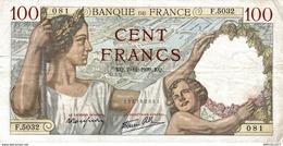 7635-2019    BILLET  DE BANQUE 7-12-1939 - 1871-1952 Antichi Franchi Circolanti Nel XX Secolo