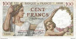 7636-2019    BILLET  DE BANQUE 7-12-1939 - 1871-1952 Antichi Franchi Circolanti Nel XX Secolo