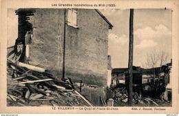 577-2019   VILLEMUR   LE QUAI ET PLACE ST JEAN - Francia