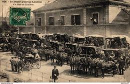 628-2019      LE DEPART POUR LA LOUVESC A LA GARE DE DUNIERES - Frankreich