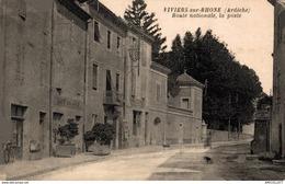 640-2019      VIVIERS SUR RHONE   ROUTE NATIONALE  LA POSTE - Viviers